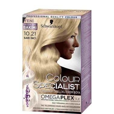 Luxy Bio  10.21 Sarı İnci Saç Boyası Sarı